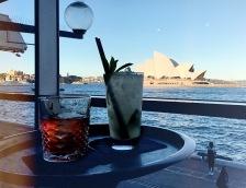 Drinks in Sydney.