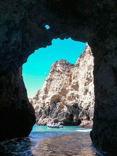 Caves of Algarve.