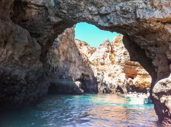 Caves of Algarve.