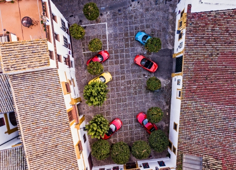 Fahrveranstaltung des neuen 718 Boxster T und 718 Cayman T in Sevilla (Photo by Hoch Zwei / Juergen Tap)