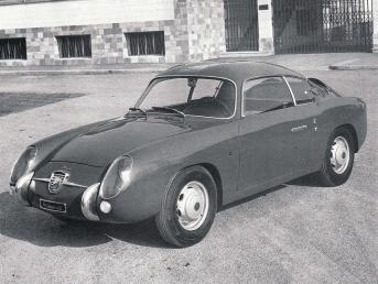 Fiat Abarth 750 GT Coupe (Zagato), 1957